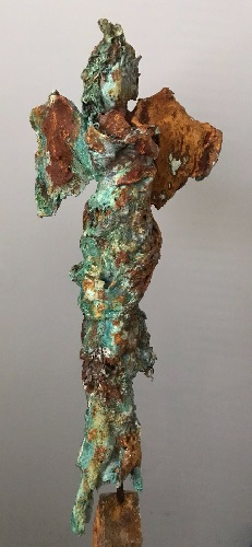 Conny Paap -  bronze and iron powder